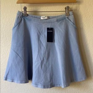 Abercrombie Kids Denim Skirt stretch elastic 15 16